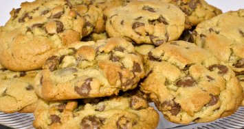 Chocolate Chip Cookies with Ghirardelli Chocolate