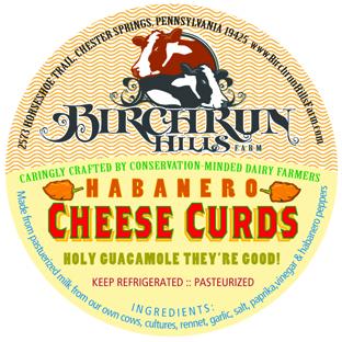 Habañero Cheese Curds