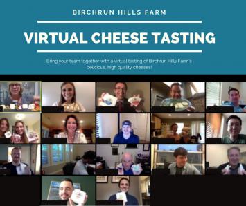 Virtual Cheese Tasting- 10/16 at 7 pm EST