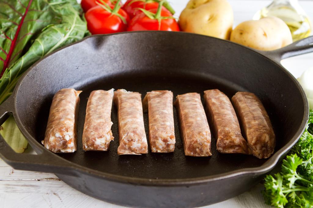 Pork 2oz Country Style Link Sausage