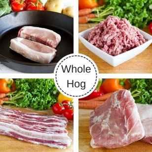 Whole Pork Hog - December Reservation