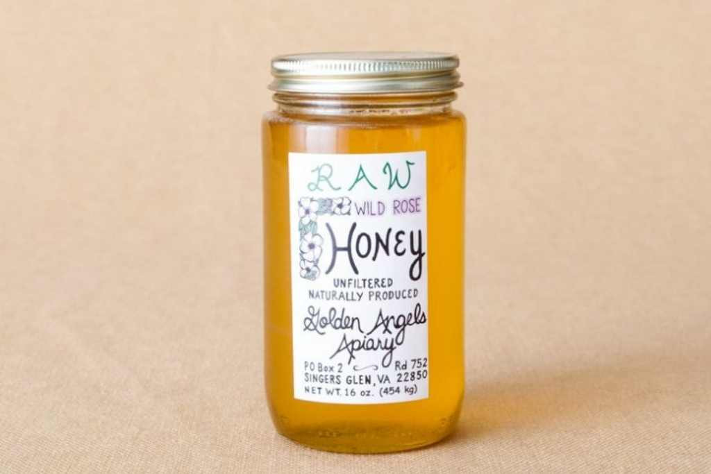 16oz. Raw Honey