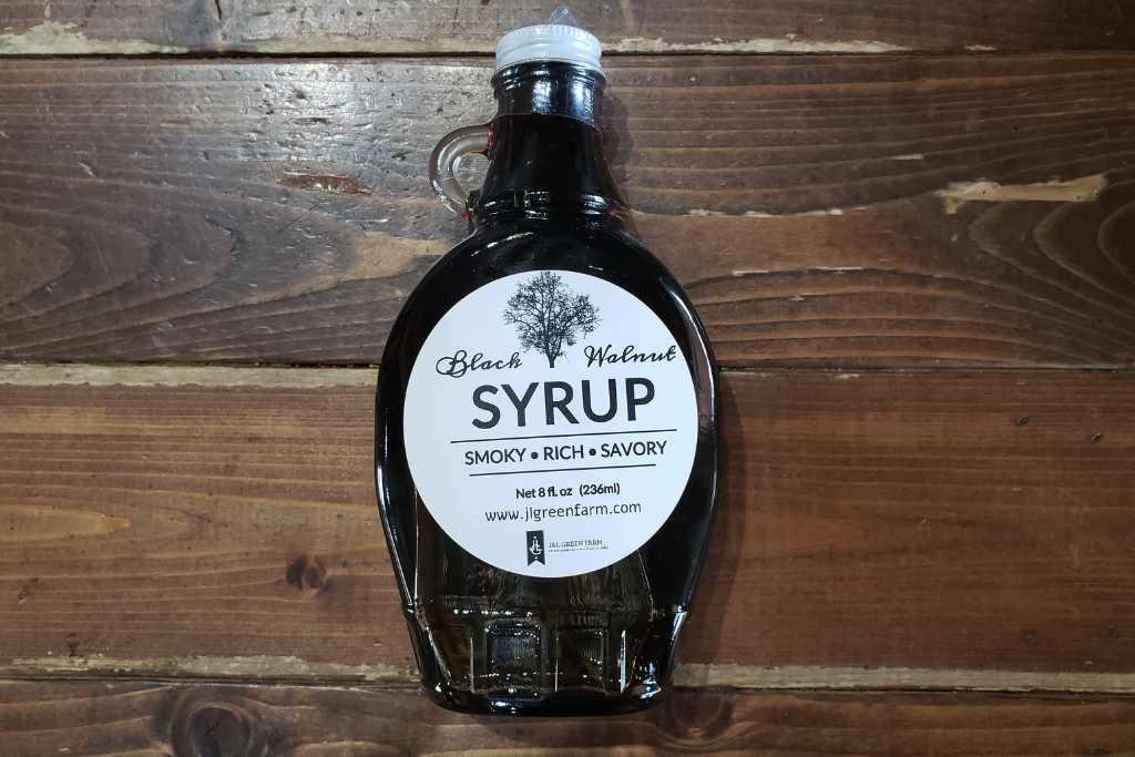 Black Walnut Syrup