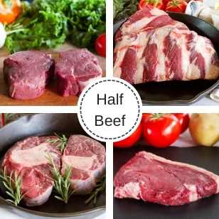 Half Beef Cow - June Reservation