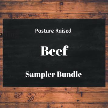 Pasture Beef Sampler Bundle