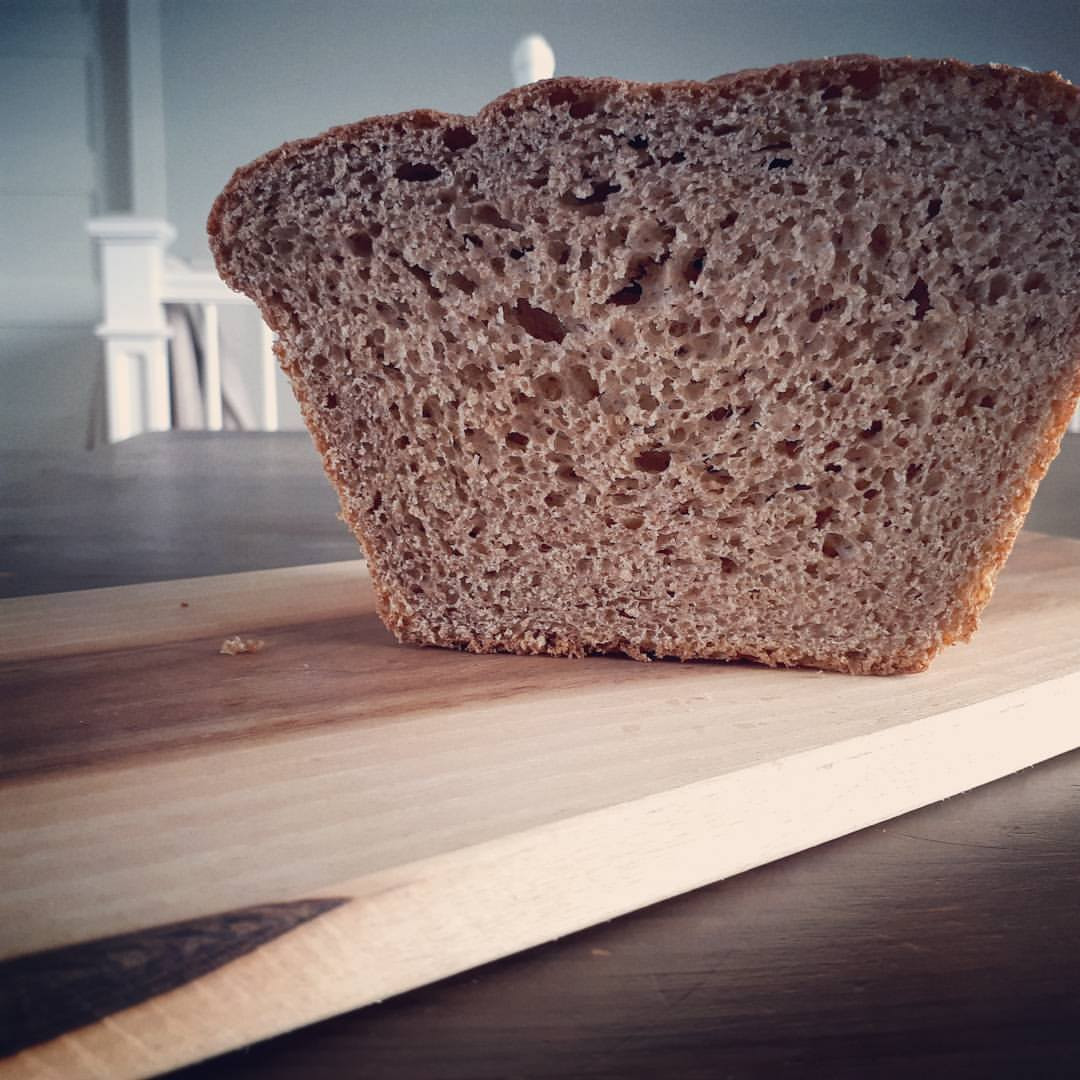 Red Fife Bread- Dairy Free (a soaked bread for highest nutrition and easy digestion)