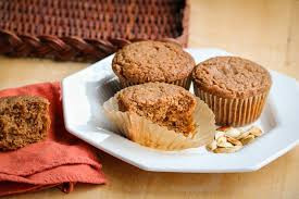 Red Fife Soaked Pumpkin Muffins