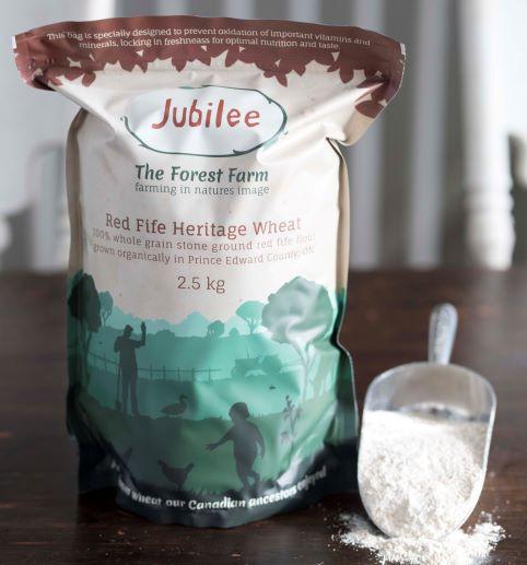 Heritage Red Fife Flour 2.5 Kg