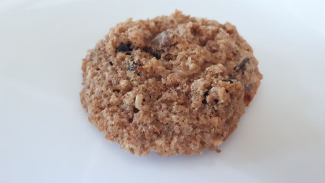 Cranberry-Chocolate-Oatmeal Sourdough Cookies