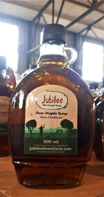 Maple Syrup 500 ml- Amber