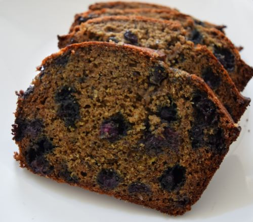 Buckwheat Blueberry Lemon Bread