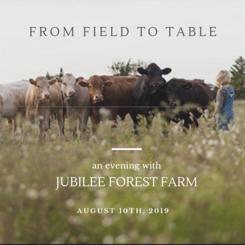 Field to Table Dinner