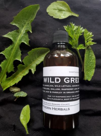 Wild Greens Vinegar