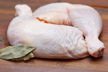 Chicken Leg Quarters  0.82 lbs avg.