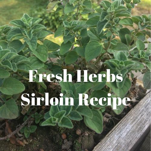Fresh Herbs Sirloin Recipe