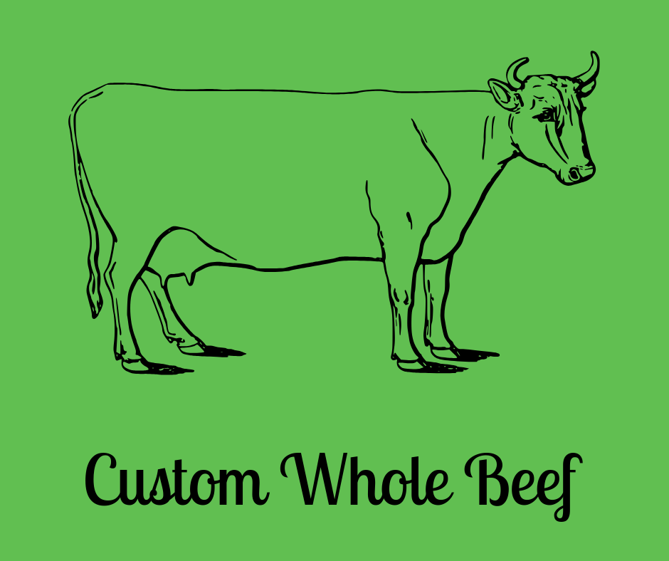 Custom Whole Beef
