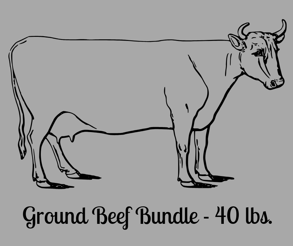 Ground Beef Bundle - 40 lbs.