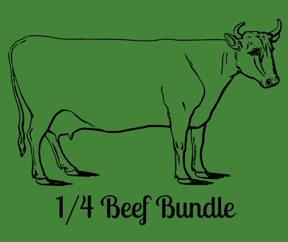 1/4 Bulk Beef Bundle