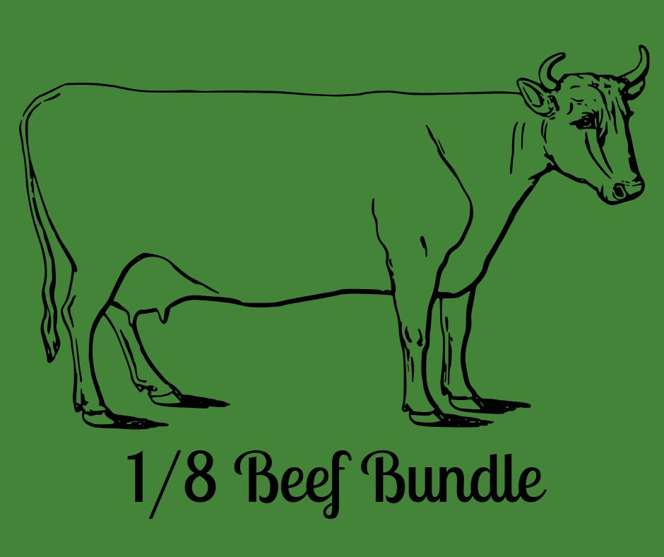 1/8 Bulk Beef Bundle