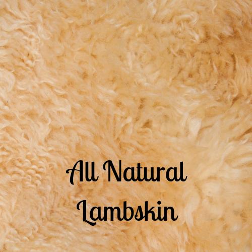 All Natural Lambskin