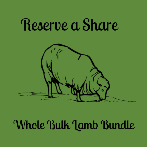 Reserve Your Share - Whole Bulk Lamb Bundle
