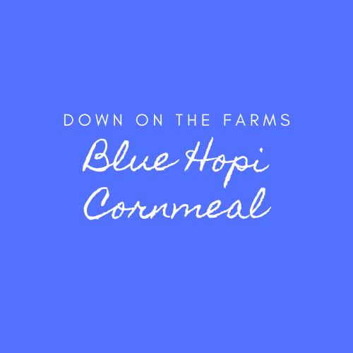 Down on the Farms Blue Hopi Cornmeal