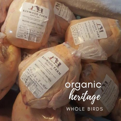 Organic, Heritage Whole Chicken