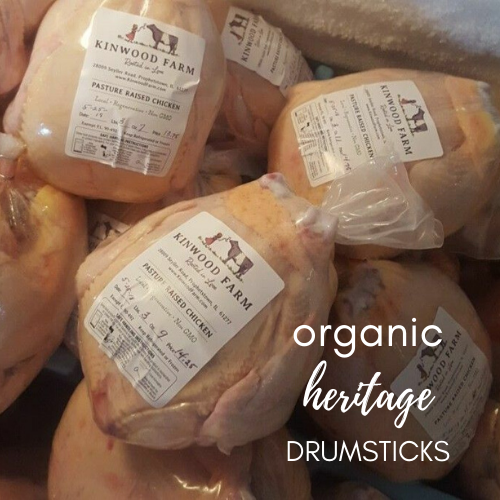 Organic, Heritage Chicken Drumsticks
