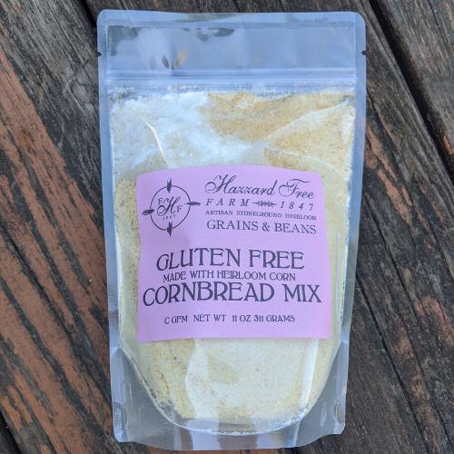 Hazzard Free Farm Gluten Free Heirloom Cornbread Mix