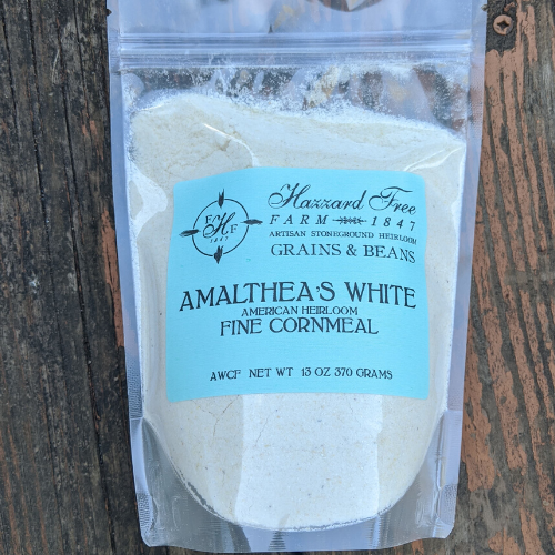 Hazzard Free Farm Amalthea's White Cornmeal