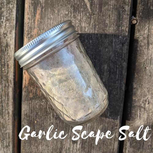Garlic Scape Salt