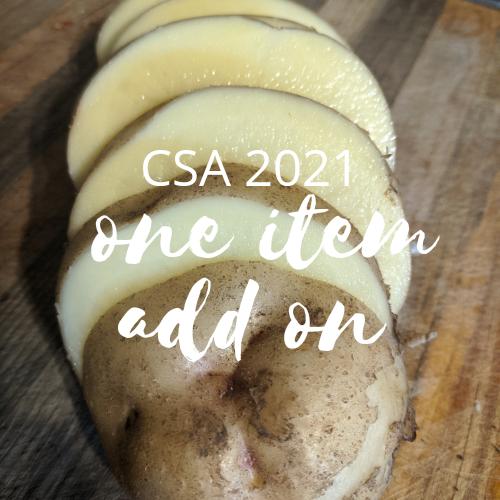 CSA 2021 One Item Add-On