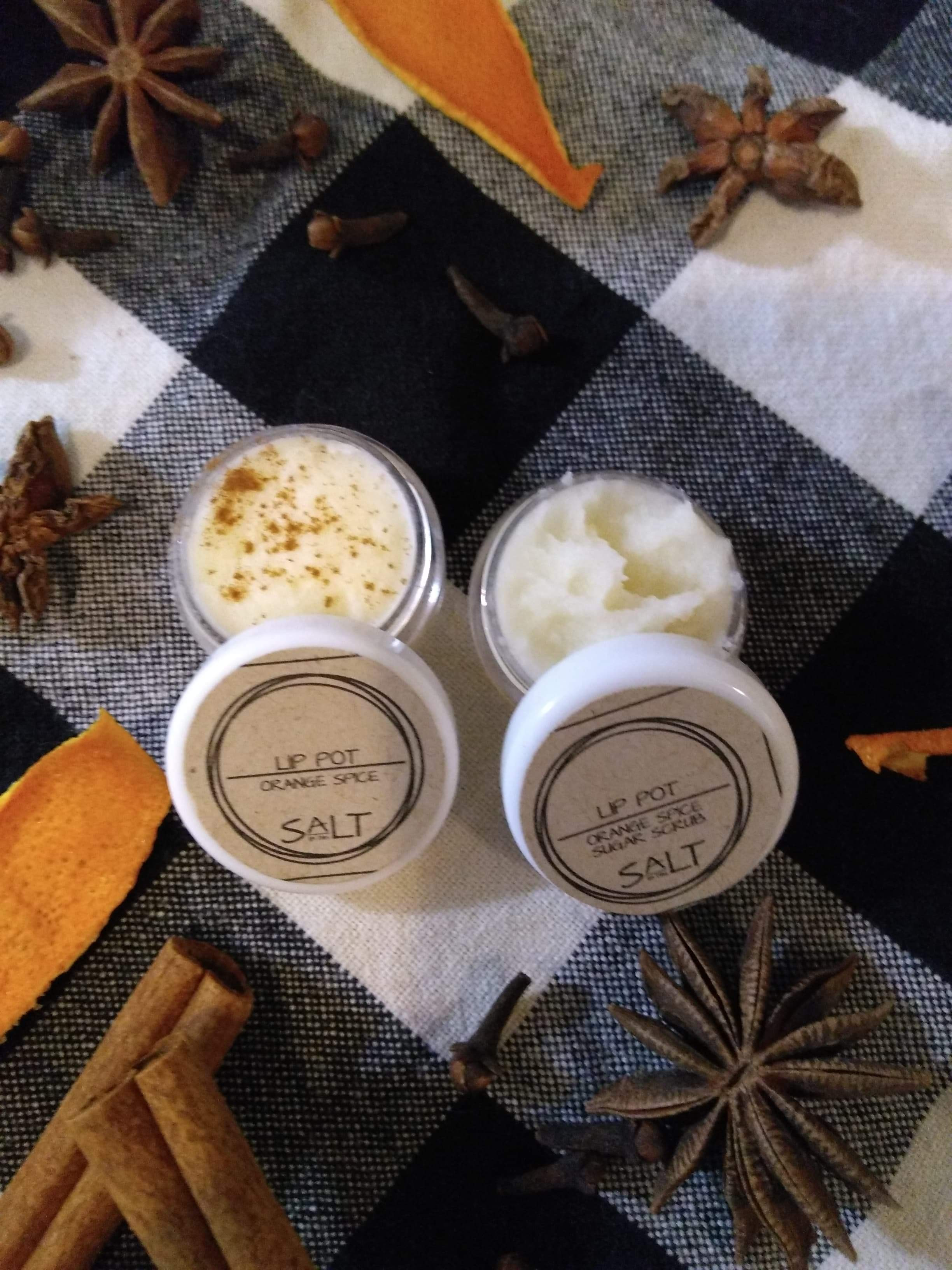 Orange Spice Sugar Lip Scrub