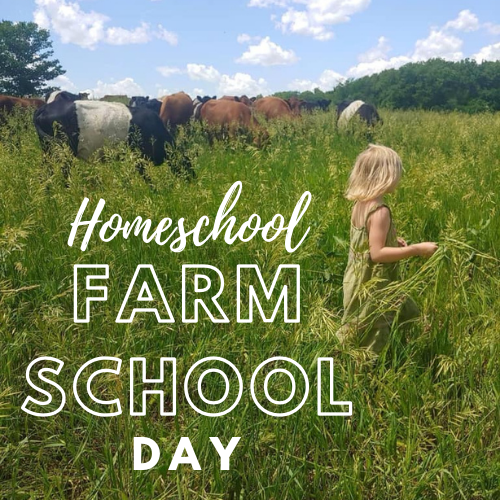 Homeschool Farm School Day - April