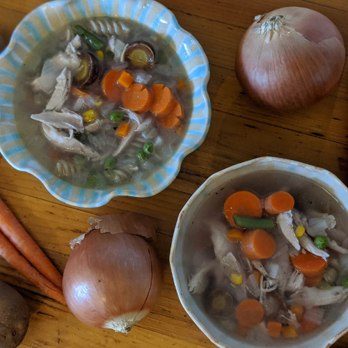 Recipe: Feel-Better Soup Featuring Kinwood Chicken