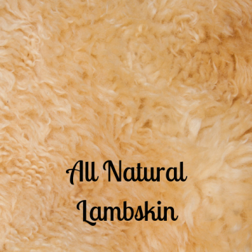 All Natural Lambskin