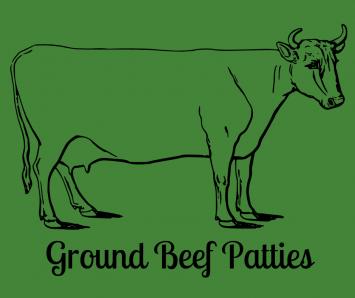 Ground Beef Patties - 2 lb. pkg