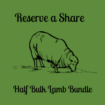Reserve Your Share - Half Lamb Bundle