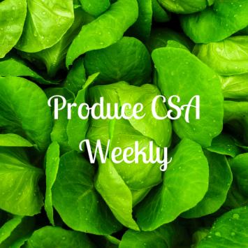 Produce CSA - Weekly