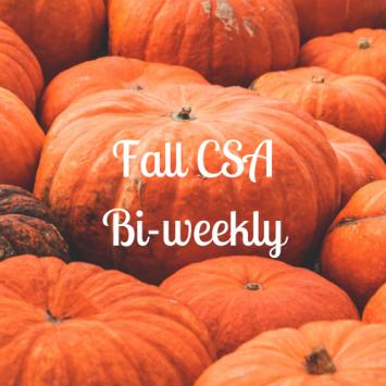 Fall CSA - Biweekly