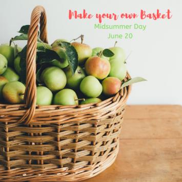 MidSummer Day Basket Making Class Reservation