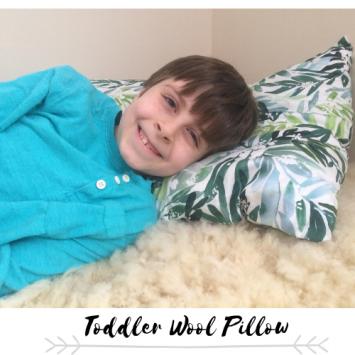 Toddler Wool Pillow