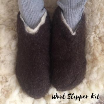 Wool Slipper Kit