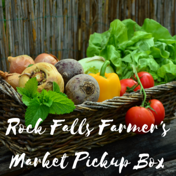 Rock Falls Farmer's Market Pickup Box