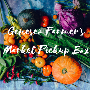 Geneseo Farmer's Market Pickup Box