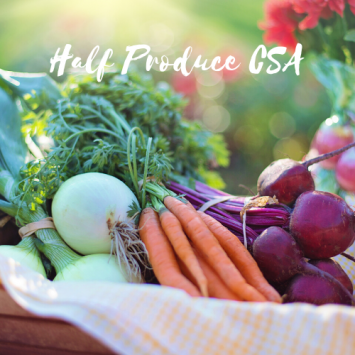 Half Produce CSA - Weekly