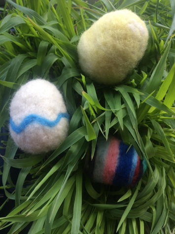 Easter Egg Wool Kit