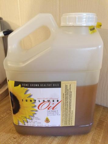 TW Farms Sunflower Oil - 1 Gallon