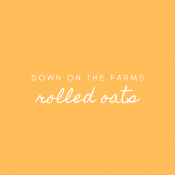 Down on the Farms Rolled Oats