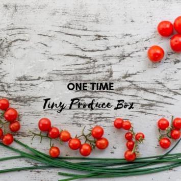 One Time Tiny Produce Box